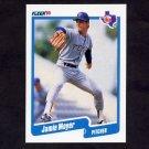 1990 Fleer Baseball #307 Jamie Moyer - Texas Rangers NM-M