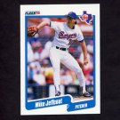 1990 Fleer Baseball #302 Mike Jeffcoat - Texas Rangers