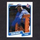 1990 Fleer Baseball #298 Cecilio Guante - Texas Rangers