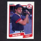 1990 Fleer Baseball #281 Rob Murphy - Boston Red Sox
