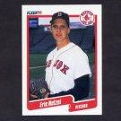 1990 Fleer Baseball #279 Eric Hetzel - Boston Red Sox