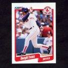 1990 Fleer Baseball #274 Dwight Evans - Boston Red Sox