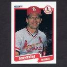 1990 Fleer Baseball #263 Denny Walling - St. Louis Cardinals