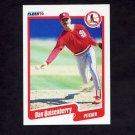 1990 Fleer Baseball #259 Dan Quisenberry - St. Louis Cardinals