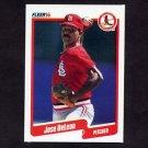 1990 Fleer Baseball #248 Jose DeLeon - St. Louis Cardinals