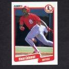 1990 Fleer Baseball #245 Vince Coleman - St. Louis Cardinals