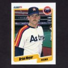 1990 Fleer Baseball #232 Brian Meyer - Houston Astros