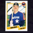 1990 Fleer Baseball #228 Glenn Davis - Houston Astros