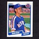 1990 Fleer Baseball #202 Kevin Elster - New York Mets