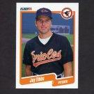 1990 Fleer Baseball #192 Jay Tibbs - Baltimore Orioles