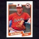 1990 Fleer Baseball #191 Mark Thurmond - Baltimore Orioles