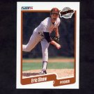 1990 Fleer Baseball #169 Eric Show - San Diego Padres