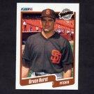 1990 Fleer Baseball #159 Bruce Hurst - San Diego Padres