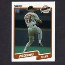 1990 Fleer Baseball #153 Pat Clements - San Diego Padres