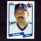 1990 Fleer Baseball #126 Tony Armas - California Angels