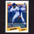 1990 Fleer Baseball #108 Tom Gordon - Kansas City Royals