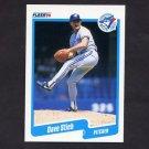 1990 Fleer Baseball #093 Dave Stieb - Toronto Blue Jays