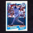 1990 Fleer Baseball #083 Kelly Gruber - Toronto Blue Jays NM-M