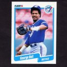 1990 Fleer Baseball #076 George Bell - Toronto Blue Jays