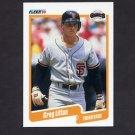 1990 Fleer Baseball #061 Greg Litton - San Francisco Giants