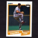 1990 Fleer Baseball #060 Craig Lefferts - San Francisco Giants