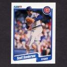 1990 Fleer Baseball #041 Scott Sanderson - Chicago Cubs