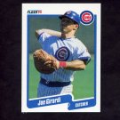 1990 Fleer Baseball #031 Joe Girardi - Chicago Cubs