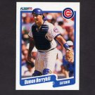 1990 Fleer Baseball #026 Damon Berryhill - Chicago Cubs