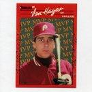 1990 Donruss Baseball Bonus MVP's #BC25 Von Hayes - Philadelphia Phillies