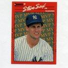 1990 Donruss Baseball Bonus MVP's #BC22 Steve Sax - New York Yankees