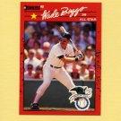 1990 Donruss Baseball #712B Wade Boggs AS - Boston Red Sox