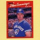 1990 Donruss Baseball #698 Steve Cummings RC - Toronto Blue Jays