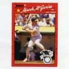 1990 Donruss Baseball #697B Mark McGwire AS - Oakland A's