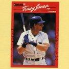 1990 Donruss Baseball #636 Tracy Jones - Detroit Tigers ERR Card