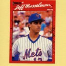 1990 Donruss Baseball #623 Jeff Musselman - New York Mets