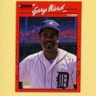 1990 Donruss Baseball #621 Gary Ward - Detroit Tigers