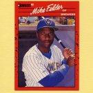 1990 Donruss Baseball #609 Mike Felder - Milwaukee Brewers