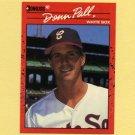 1990 Donruss Baseball #606 Donn Pall - Chicago White Sox