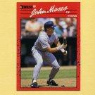 1990 Donruss Baseball #590 John Moses - Minnesota Twins