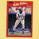 1990 Donruss Baseball #440 Willie Wilson - Kansas City Royals