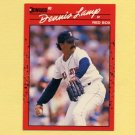 1990 Donruss Baseball #423 Dennis Lamp - Boston Red Sox