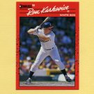 1990 Donruss Baseball #413 Ron Karkovice - Chicago White Sox