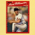 1990 Donruss Baseball #406 Mark Williamson - Baltimore Orioles