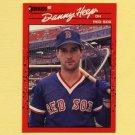 1990 Donruss Baseball #358 Danny Heep - Boston Red Sox