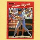 1990 Donruss Baseball #355 Brian Harper - Minnesota Twins