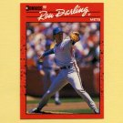 1990 Donruss Baseball #289 Ron Darling - New York Mets