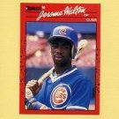 1990 Donruss Baseball #285 Jerome Walton - Chicago Cubs