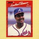 1990 Donruss Baseball #263 Andres Thomas - Atlanta Braves