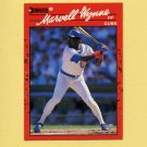 1990 Donruss Baseball #255 Marvell Wynne - Chicago Cubs