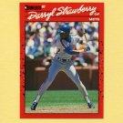 1990 Donruss Baseball #235 Darryl Strawberry - New York Mets